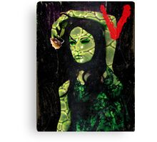V ~ Visitors Canvas Print