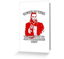 Uncle shepard wants you Greeting Card