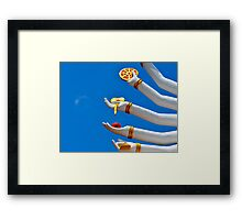 Guanyin's Arms Framed Print