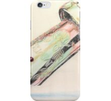 The Gondolier started singing iPhone Case/Skin