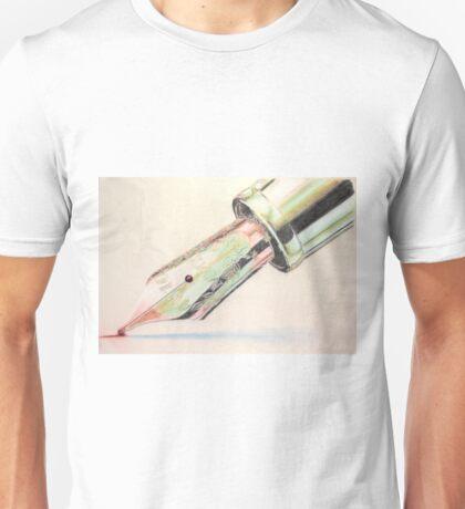 The Gondolier started singing Unisex T-Shirt