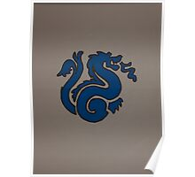 Left Protection Dragon Poster