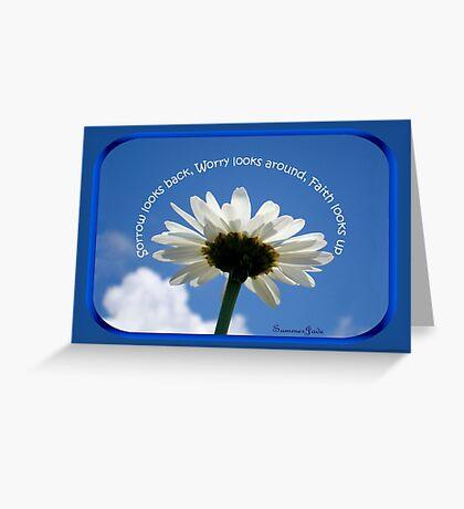 Faith Looks Up ~ Dance! Greeting Card
