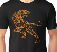 Tiger - Orange Unisex T-Shirt