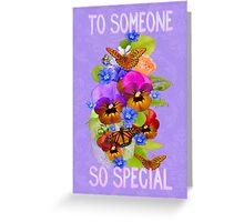 Summer Flowers .. greetings card Greeting Card