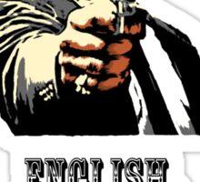 English mother****er do you speak it? Sticker