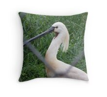 Clipped Wings Throw Pillow