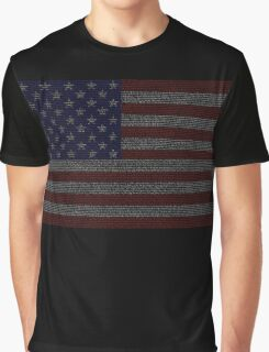 We the People Graphic T-Shirt