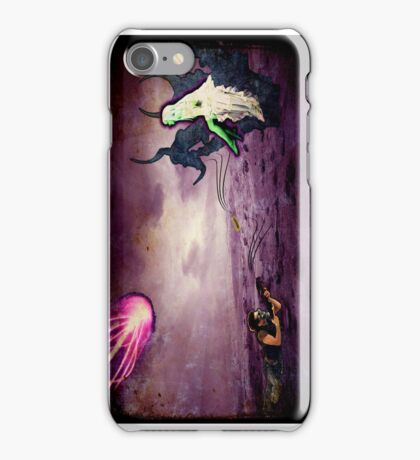 Assault on Malefica (Queen of the Mysteroyds) - iPhone iPhone Case/Skin