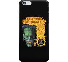 Electric Frankenstein Gig Poster iPhone Case/Skin