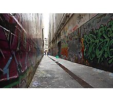 Alleyway Photographic Print