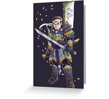 Greatest American Samurai  Greeting Card