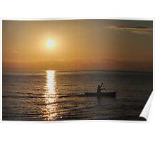 Nyasa sunrise Poster