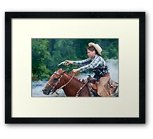 """""""Northern Ohio Outlaws"""" #10 Framed Print"""