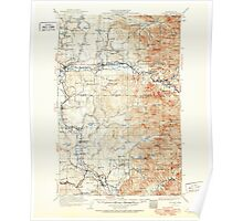 USGS Topo Map Washington State WA Sultan 244095 1921 125000 Poster