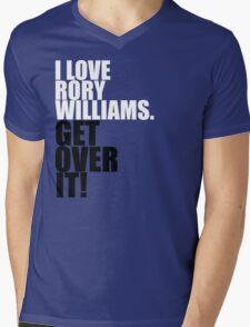 I love Rory Williams. Get over it! Mens V-Neck T-Shirt