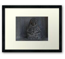 Sun Goddess - Diosa Del Sol Framed Print