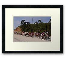 Presidential Cycling Tour of Turkey 11-18 APRIL 2010 Framed Print