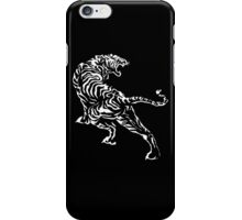 Tiger - White iPhone Case/Skin