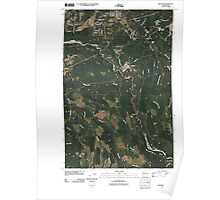 USGS Topo Map Washington State WA Wilkeson 20110422 TM Poster