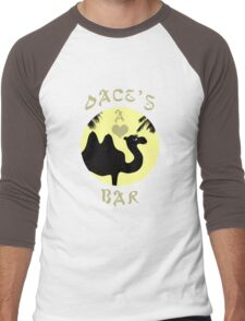 Oace's Bar Men's Baseball ¾ T-Shirt