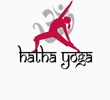 Hatha Yoga T-Shirt Womens Fitted T-Shirt