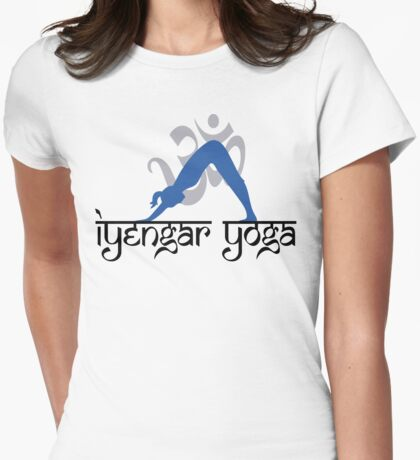 Iyengar Yoga T-Shirt Womens Fitted T-Shirt