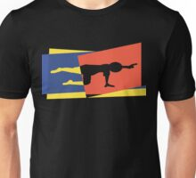 Abstract Yoga T-Shirt Unisex T-Shirt