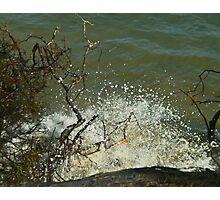 Raging Sea Photographic Print