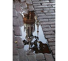 Fallen into the Puddle Photographic Print