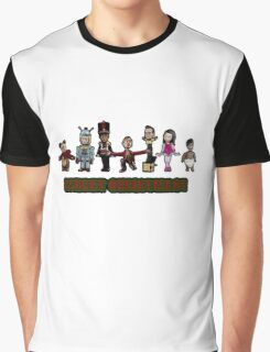 Stop Motion Christmas - Style A Graphic T-Shirt