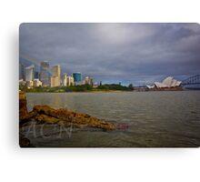 Sydney Rainbow Canvas Print