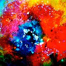 Yawn of Fire....Poppy Abstract. by ©Janis Zroback