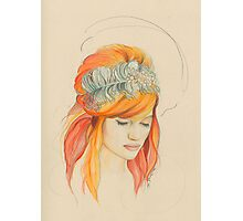 Feathered Red Head (The Original) Photographic Print