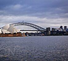 Sydney Harbor 2 by Adam Northam