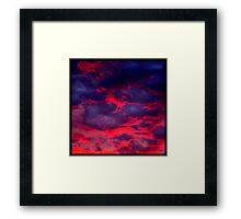 Calypso Sunset (available in iphone & ipod cases) Framed Print