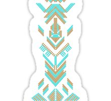 Aztec design Sticker