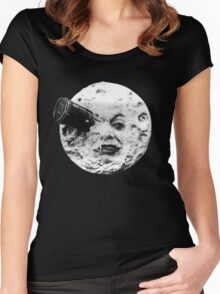 Trip to the Moon Women's Fitted Scoop T-Shirt