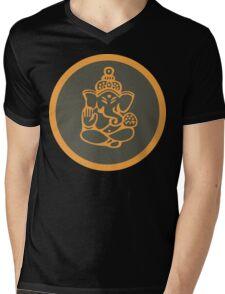 Ganesha T-Shirt Mens V-Neck T-Shirt