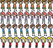 Cartoon Kids by SallySallySally