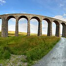 Ribblehead Viaduct Panorama by Mat Robinson