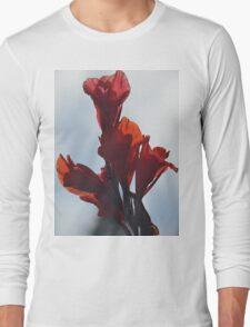 Red Flower Long Sleeve T-Shirt