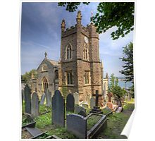St. Mary's Church Clock - Appledore Poster