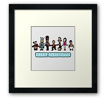 Stop Motion Christmas - Style B Framed Print