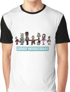 Stop Motion Christmas - Style B Graphic T-Shirt