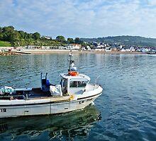 Silver Spirit ~ Lyme Regis  by Susie Peek