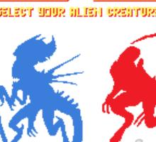 Select your Xenomorph Sticker