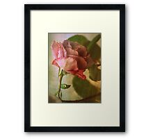 Intuitively Romantic Framed Print