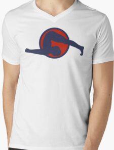 Yoga T-Shirt Mens V-Neck T-Shirt