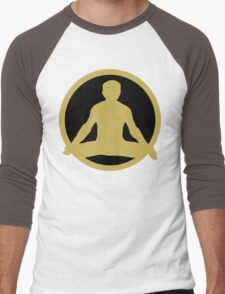 Men's Yoga T-Shirt Men's Baseball ¾ T-Shirt
